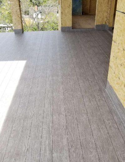 new construction wood grain vinyl