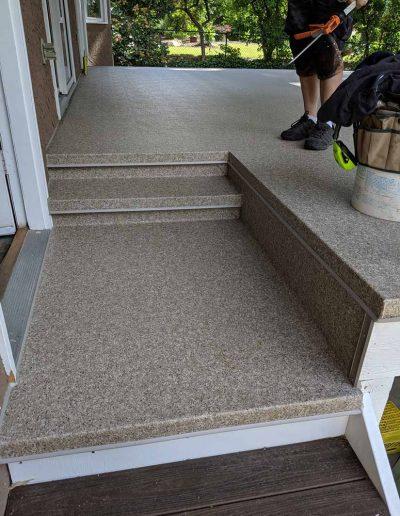 vinyl-used-on-steps